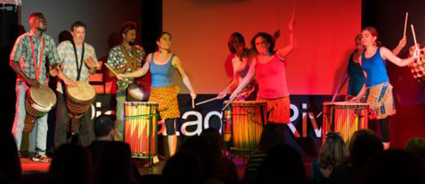 Namory Keita with Seacoast West African Dance and Drum at TEDxPiscataquaRiver 2017